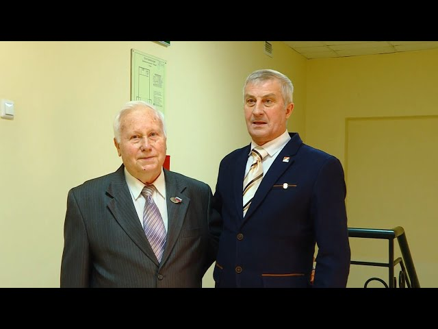 Мэр округа поздравил ветеранов