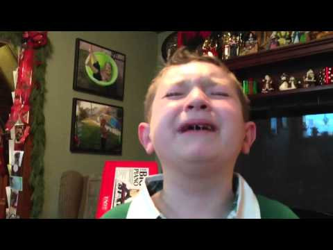 Tank! Tank! Tank! Makes A Little Kid Cry On Christmas Morning