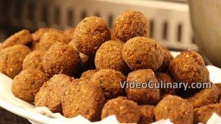 Falafel Recipe - Vegan Middle Eastern Food - Video Culinary