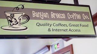 Banyan Breeze Coffee Company in Waikiki, Hawaii