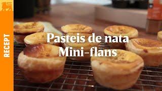 Pasteis de Nata - Mini-flans