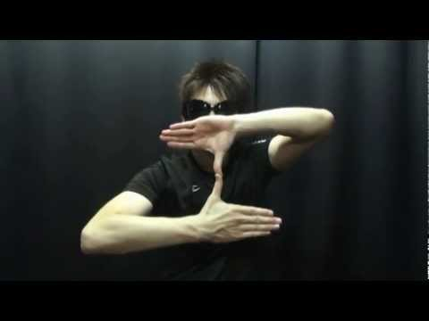 How to Finger Dance [finger Tutting step1] フィンガーダンスレッスン [フィンガータット①]