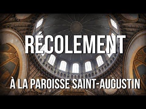 Récolement à la paroisse Saint-Augustin
