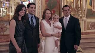 Greek Orthodox Baptism Video | Manolis