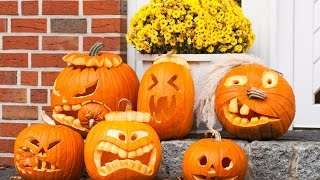 Хэллоуин в США. Жуть как смешно.