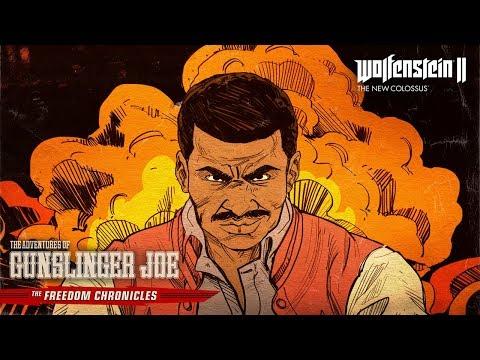 Trailer pour le DLC - Les Aventures de Gunslinger Joe de Wolfenstein II : The New Colossus