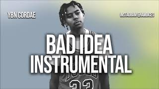 "YBN Cordae ""Bad Idea"" Ft. Chance The Rapper Instrumental Prod. By Dices *FREE DL*"