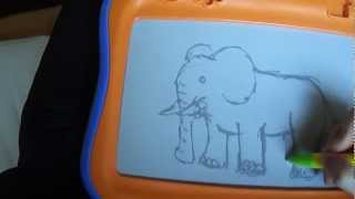 Zeichnen mit der Magnettafel