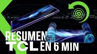 DOS PANTALLAS ENROLLABLES 🌀 TCL 20 5G y gafas con pantallas micro-OLED | Resumen TCL CES 2021