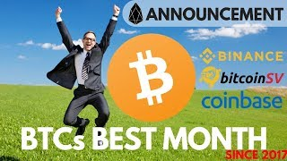 Bitcoin's Best Month since 2017! EOS Announcement, Top Performer in May - Crypto News