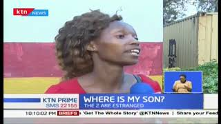 28yrs old woman in Nakuru asks the government to help her estranged lover who escaped with her baby