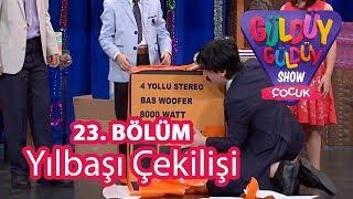 Güldüy Güldüy Show Çocuk 23. Bölüm, Yılbaşı Çekilişi
