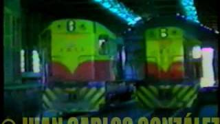 preview picture of video 'Deposito de Locomotoras y CCMM Ganz Mavag Santa Fe'