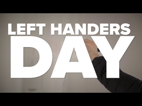Left-Handers Day is Aug. 13! Here are some fun facts about lefties