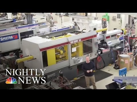 What It's Like Inside A Modern, Growing U.S. Manufacturing Company | NBC Nightly News