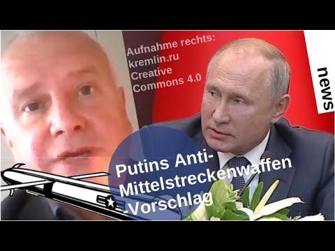 Putins Anti-Mittelstreckenwaffen-Vorstoß [Video]