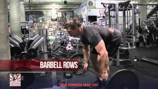 Best Back Workout – Old School Style