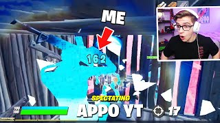 I SPECTATED THE *WORLDS BEST* FORTNITE MOBILE PLAYER...
