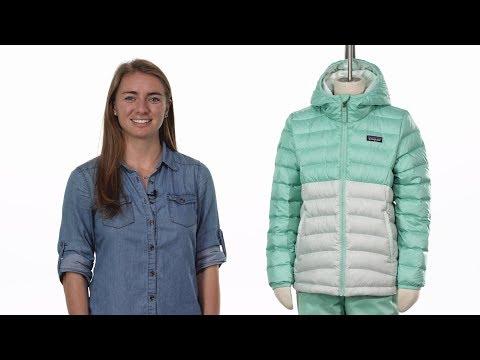 Patagonia Girls Reversible Down Sweater Hoody Doudoune Enfant