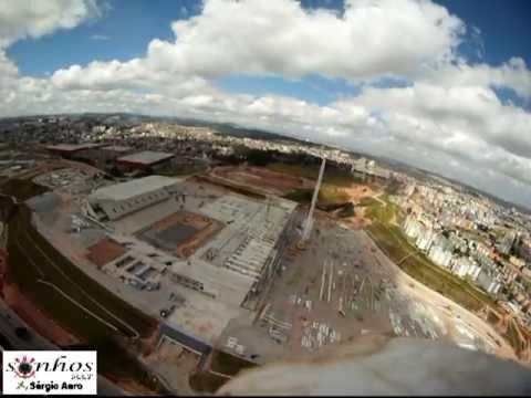 Vôo na Arena do Corinthians - 21/04/2013