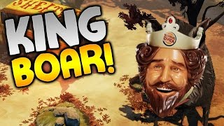 """The Flame In The Flood Gameplay - """"KING BOAR & RAFT UPGRADES!!!""""  - Let"""