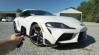 2020 Toyota GR Supra 3.0: Start Up, Exhaust, Test Drive and Review