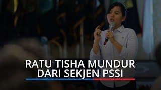 Ratu Tisha Destria 'Mendadak' Mundur dari Jabatan Sekjen PSSI