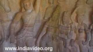 Krishna Mandapa at Mahabalipuram(Mamallapuram) in Tamil Nadu