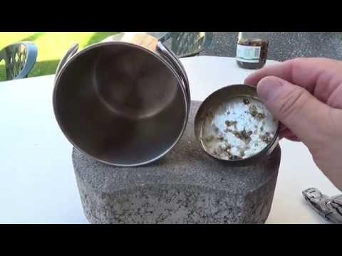 Tipps & Tricks - kleiner Dosenbrenner mit Gastro Brennpaste