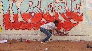 Festival Fasograff: des graffiti pour alerter les consciences