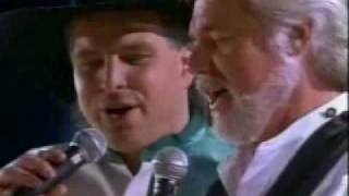 Kenny Rogers - the old man's back in town (With Garth Brooks & Trisha Yerawood)