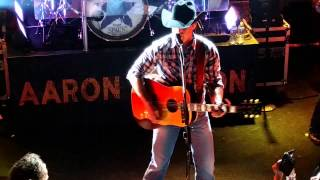 Aaron Watson at Troubadour Freight Train