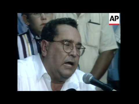 NICARAGUA: ARNOLDO ALEMAN CONFIRMED AS NEW PRESIDENT