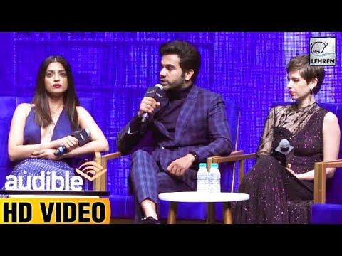 Rajkummar Rao, Radhika Apte & Kalki Koechlin At Am