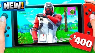 FORTNITE *NEW* LIMITED NINTENDO SWITCH SKIN GAMEPLAY! (Double Helix Skin)