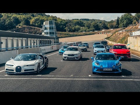 The Contenders | Performance Car Of The Year 2018 | Top Gear