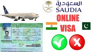 Online Saudia Visa Check 2020