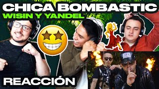 [Reacción] Wisin & Yandel   Chica Bombastic (Official Video)   ANYMAL LIVE 🔴
