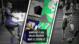 Monterrey Flash vs Dallas Sidekicks