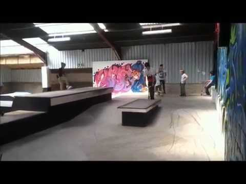 The Warehouse Skatepark Leyland UK