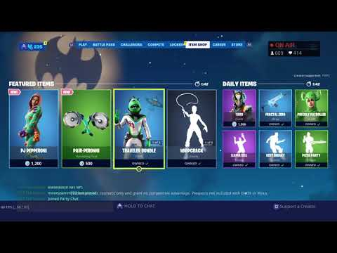 FORTNITE LIVE GIFTING BATMAN BUNDLE!!!!!