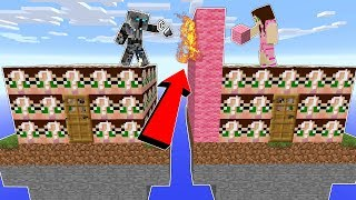 Minecraft: *CRINGE* GAMINGWITHJEN LUCKY BLOCK HOUSE INVADERS!!!   Lucky Block Mod   Modded Mini Game