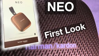 Harman Kardon NEO - UNBOXING and FIRST LOOK