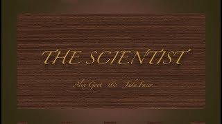 Gambar cover The Scientist lyrics Alex goot & Jada Facer