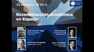 """<span class=""""fs-md"""">II Foro Financiero IEAF-FEF """"Reconstrucción económica en España""""</span>"""