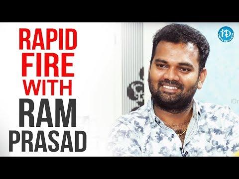 Rapid Fire With Ram Prasad || Anchor Komali Tho Kaburlu
