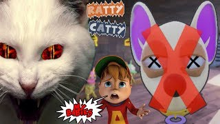 THESE EVIL CATS WONT LET ME FEED MY BABIES  || Ratty Catty W/ Fruit Snacks
