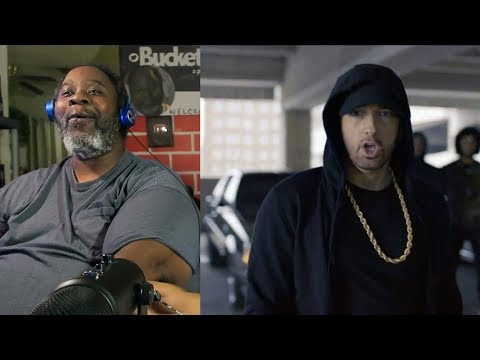 Dad Reacts to Eminem Rips Donald Trump in Freestyle Cypher!