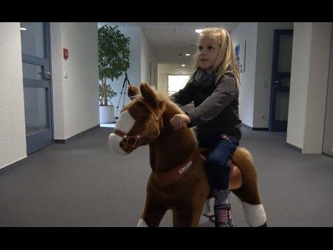Kinderpferd Rutschpferd Rollpferd von Ponycycle im EURONICS Test