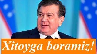 Шавкат Мирзиёевнинг кейинги ташрифи Хитойга бўлади